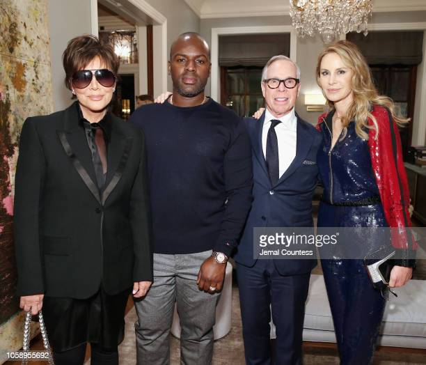 Kris Jenner Corey Gamble Tommy Hilfiger and Dee Hilfiger attend as Marigay McKee and Bill Ford celebrate the opening of pioneering African nonprofit...