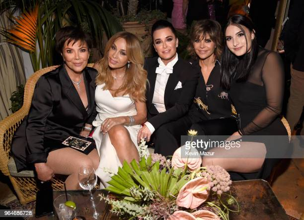 Kris Jenner Faye Resnick Kyle Richards Lisa Rinna and Sophia Umansky attend the 'American Woman' premiere party at Chateau Marmont on May 31 2018 in...