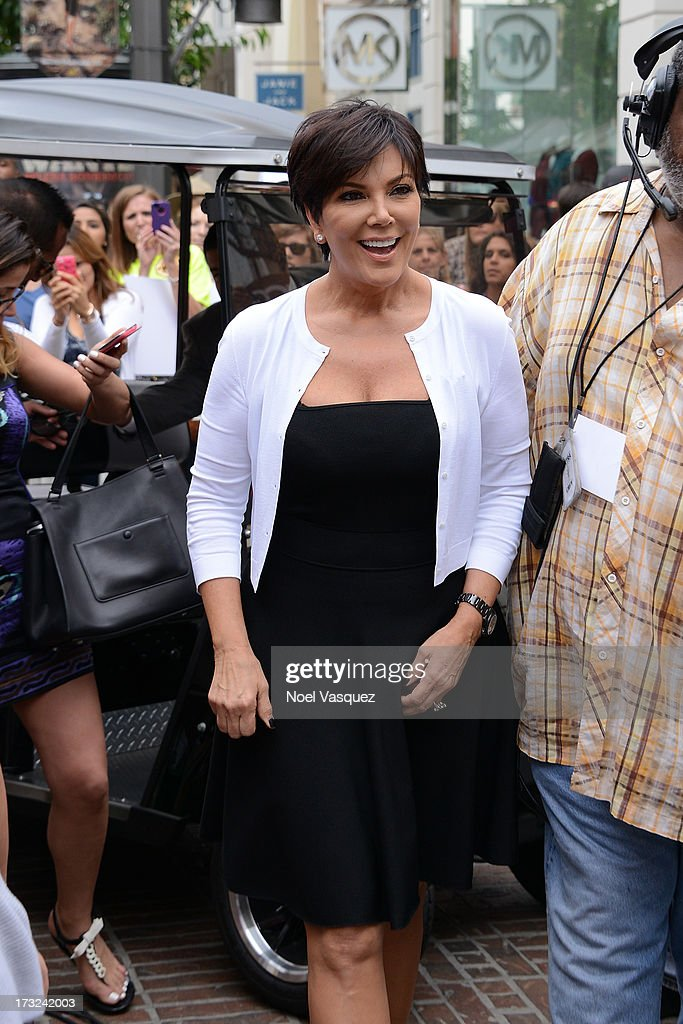 Kris Jenner is seen at The Grove on July 10, 2013 in Los Angeles, California.