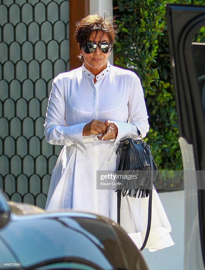 Kris Jenner is seen on August 27, 2014 in Los Angeles, California.