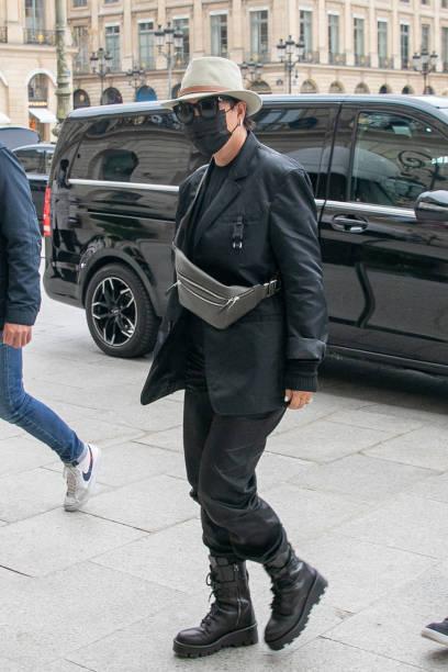 FRA: Celebrity Sightings In Paris - June 23, 2021