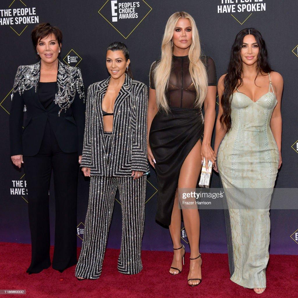 2019 E! People's Choice Awards - Social Crops : News Photo