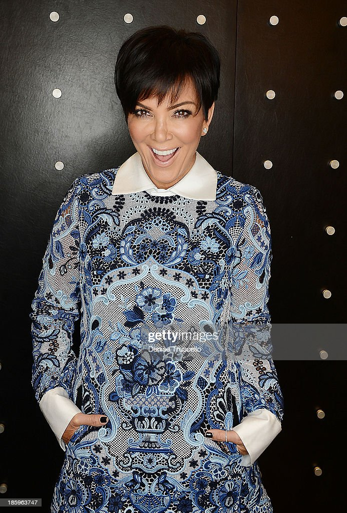Kris Jenner makes a special appearance at Kardashian Khaos in the Mirage Hotel and Casino on October 26, 2013 in Las Vegas, Nevada.