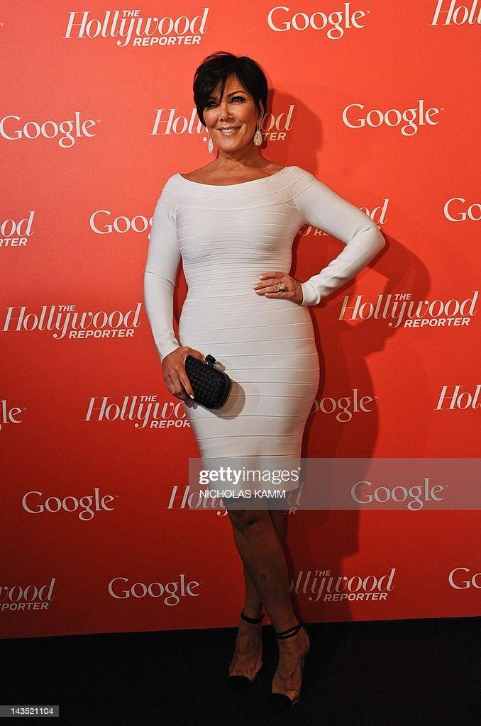 Kris Jenner, mother of Kardashian celebr : News Photo