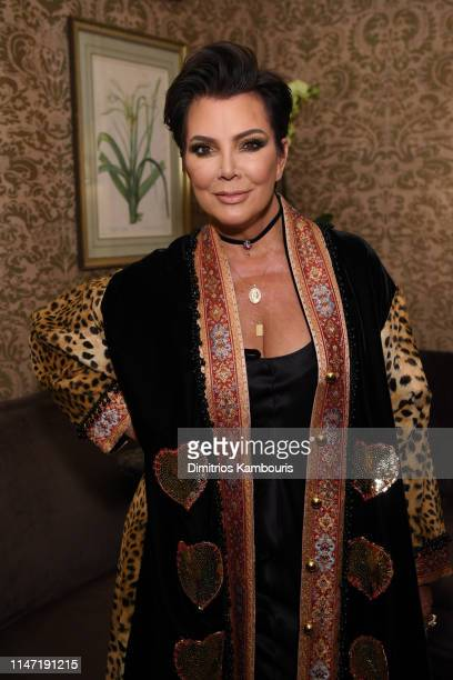 Kris Jenner poses for a photo as Harper's BAZAAR's Glenda Bailey celebrates her Damehood on May 05 2019 in New York City