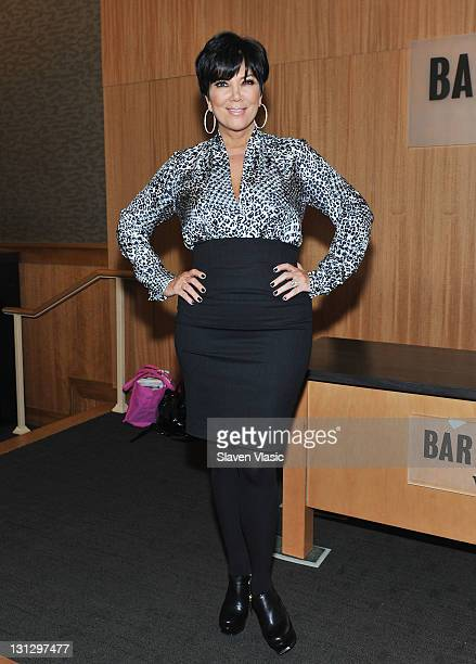 Kris Jenner promotes 'Kris JennerAnd All Things Kardashian' at Barnes Noble 86th Lexington on November 3 2011 in New York City