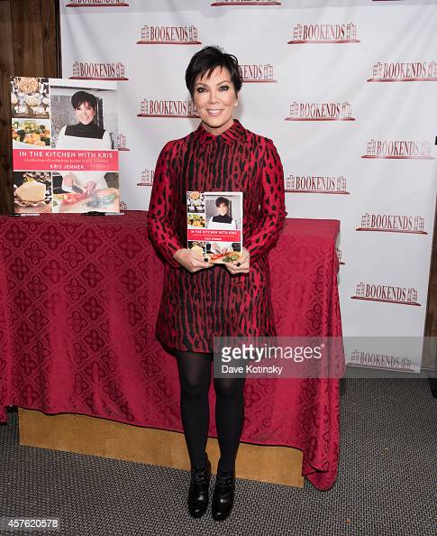 In The Kitchen With Kris: Kris Jenner Signs Copies Of Her Cookbook 'In The Kitchen