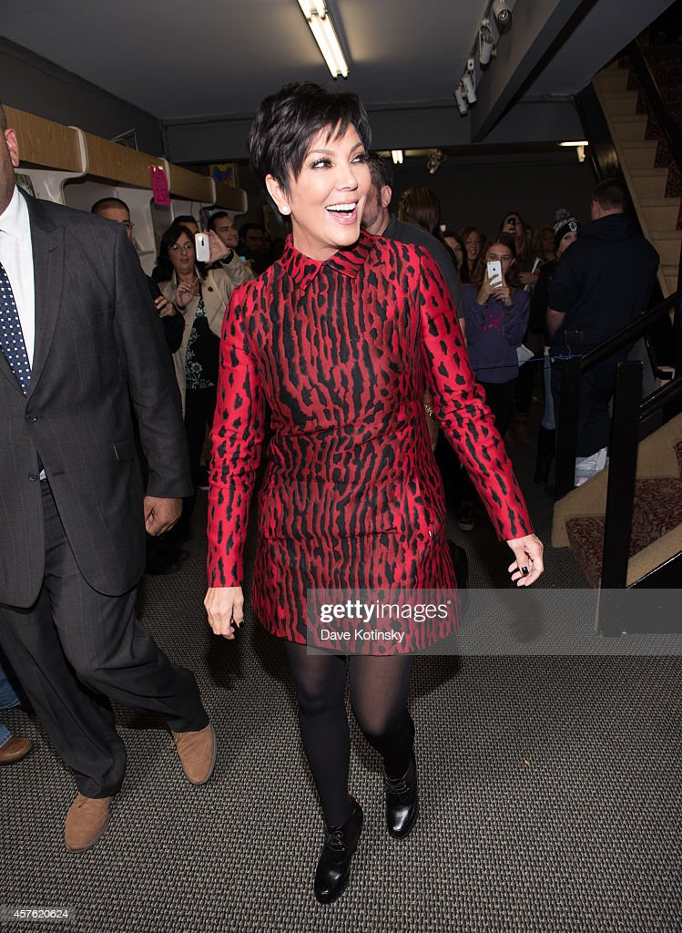 """Kris Jenner Signs Copies Of Her Cookbook """"In the Kitchen With Kris"""" : News Photo"""
