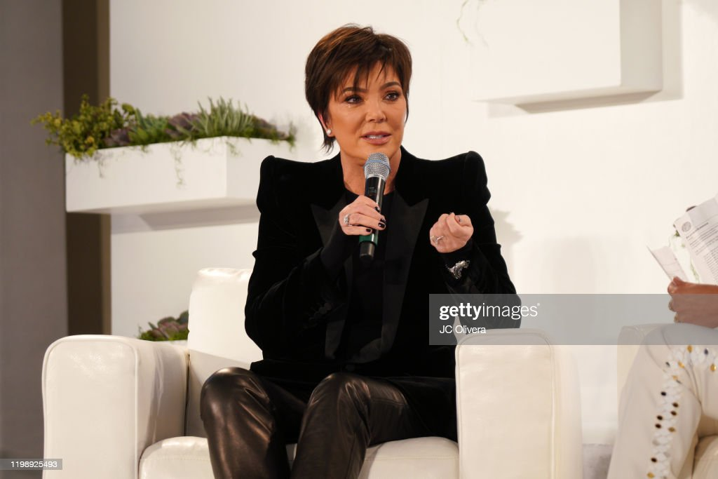 Nazarian Institute's ThinkBIG 2020 Conference featuring Keynote Speaker Kris Jenner : News Photo