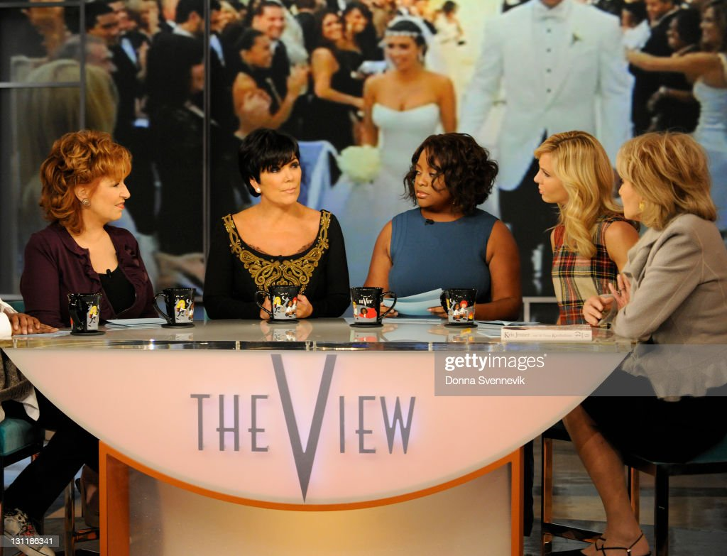 THE VIEW - Kris Jenner was a guest on 'THE VIEW,' 11/2/11 (11:00 a.m. - 12:00 noon, ET) airing on the ABC Television Network. She discussed her book 'All Things Kardashian' and addressed the news about the breakup of her daughter Kim's marriage after only 72 days. WALTERS