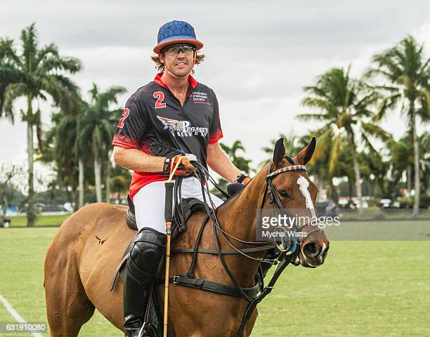Kris Kampsen at International Polo Club Palm Beach on January 16 2017 in Wellington Florida