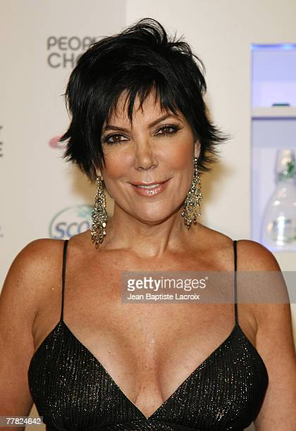 Kris Kardashian arrives at the Crest Scope People's Choice nomination announcement at Area Nightclub on November 8 2007 in West Hollywood California