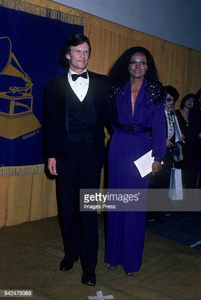 Kris Kristofferson and Diana Ross circa 1982 in Los Angeles California
