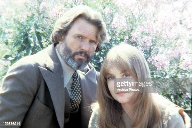 Kris Kristofferson and Isabelle Huppert in a scene from the film 'Heaven's Gate' 1980