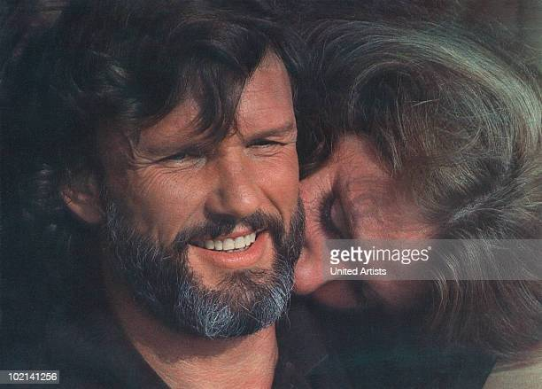Kris Kristofferson and Jill Clayburgh in 'SemiTough' directed by Michael Ritchie 1977