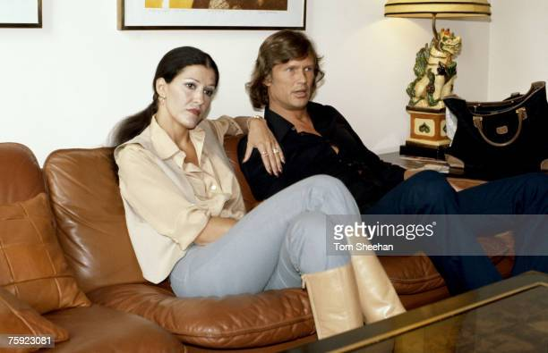 Kris Kristofferson and Rita Coolidge at a Press Conference London in 1976