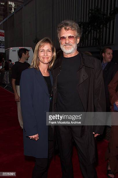 Kris Kristofferson and wife Lisa arrive for the world premiere of the 20th Century Fox film 'Planet of the Apes' at the Ziegfeld Theater in New York...