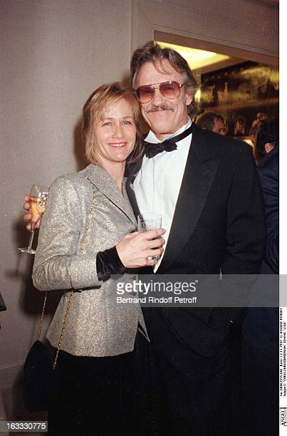 Kris Kristofferson and wife Lisa at theChanel Dinner Celebrating The Opening Of La Joaillerie 18 Place Vendome In Paris