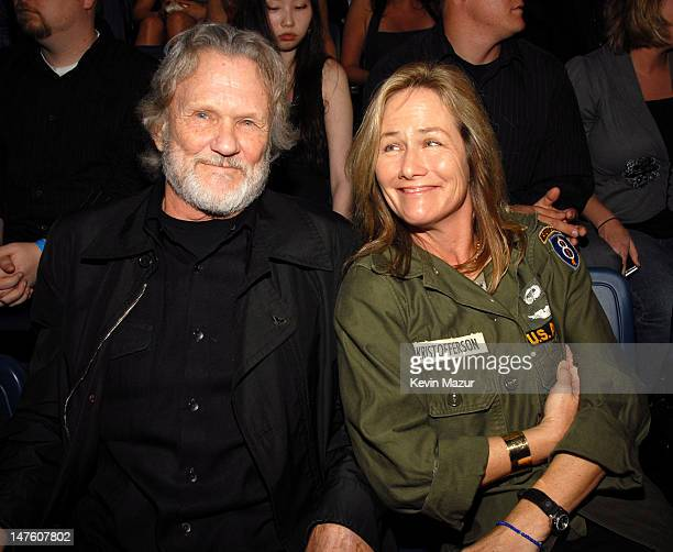 Kris Kristofferson and wife Lisa Meyers *EXCLUSIVE*