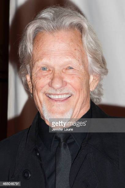 Kris Kristofferson attends the GRAMMY Foundation's Special Merit Awards ceremony at The Wilshire Ebell Theatre on January 25 2014 in Los Angeles...