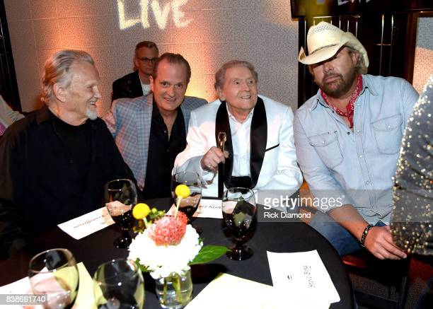 Kris Kristofferson creator of Skyville Live Wally Wilson Jerry Lee Lewis and Toby Keith attend Skyville Live Presents a Tribute to Jerry Lee Lewis on...