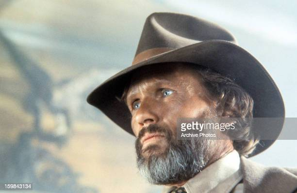 Kris Kristofferson in a scene from the film 'Heaven's Gate' 1980