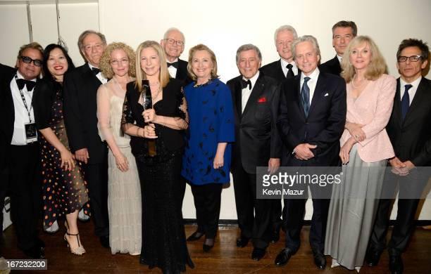 Kris Kristofferson Marty Erlichman Richard JayAlexander Kenneth Bowser Amy Irving Barbra Streisand Alan Bergman Marilyn Bergman Former US Secretary...