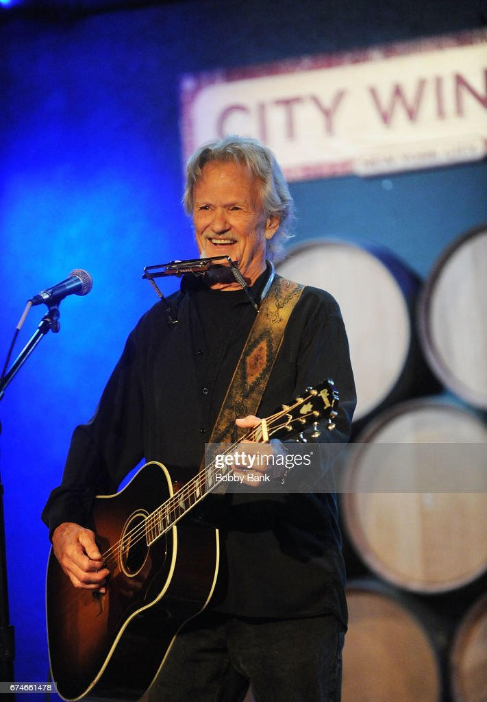 Kris Kristofferson performs in concert at City Winery on April 28, 2017 in New York City.