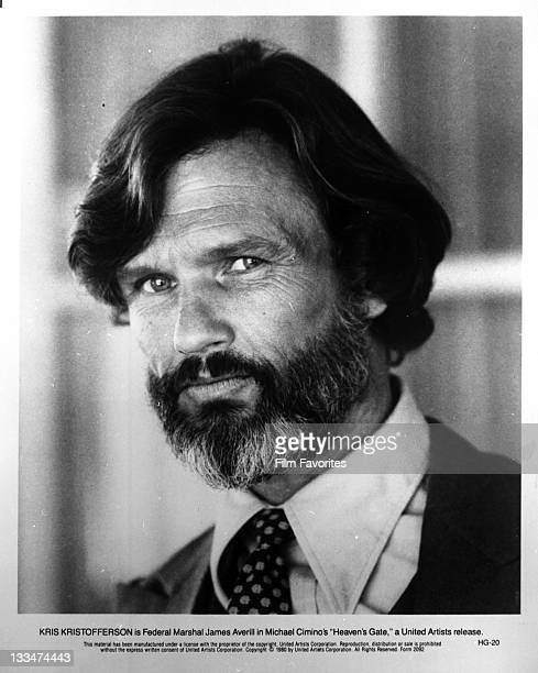 Kris Kristofferson publicity portrait for the film 'Heaven's Gate' 1980