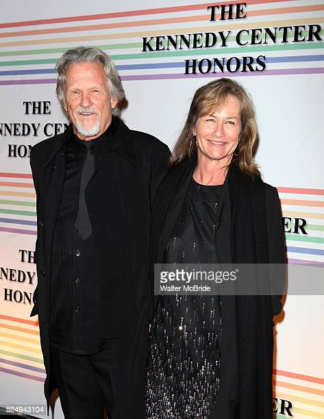 Kris Kristofferson wife Lisa attend the 2010 Kennedy Center Honors Ceremomy in Washington DC