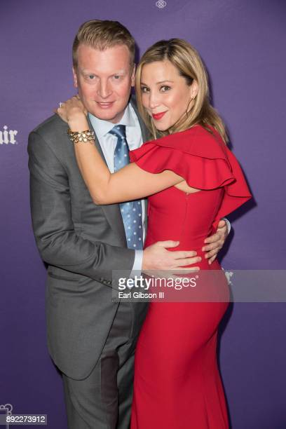 Kris Lythgoe and Becky Lythgoe attend the Lygoe Family Pantos Opening Night Performance Of 'Beauty And The BeastA Christmas Rose' at Pasadena Civic...