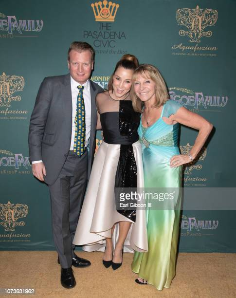 Kris Lythgoe Becky Baeling Lythgoe and Bonnie Lythgoe attend the World Premiere Of Lythgoe Family Pantos' 'The Wonderful Winter Of Oz' Opening Night...