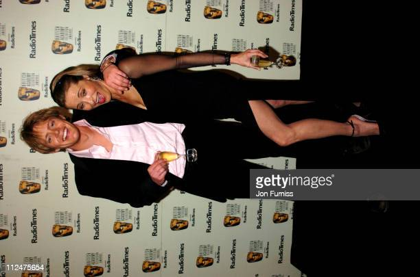 Kris Marshall and Amanda Donohoe during 50th Annual BAFTA Television Awards Press Room at Grosvenor House in London United Kingdom