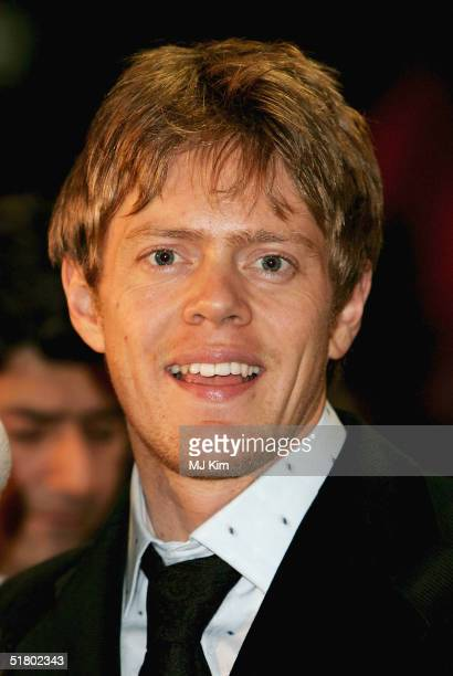 Kris Marshall arrives at the UK film premiere of Merchant Of Venice at Odeon Leicester Square on November 29 2004 in London