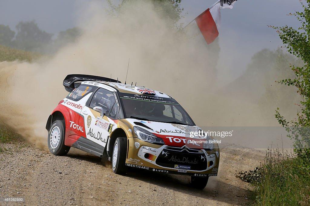 FIA World Rally Championship Poland - Shakedown : News Photo