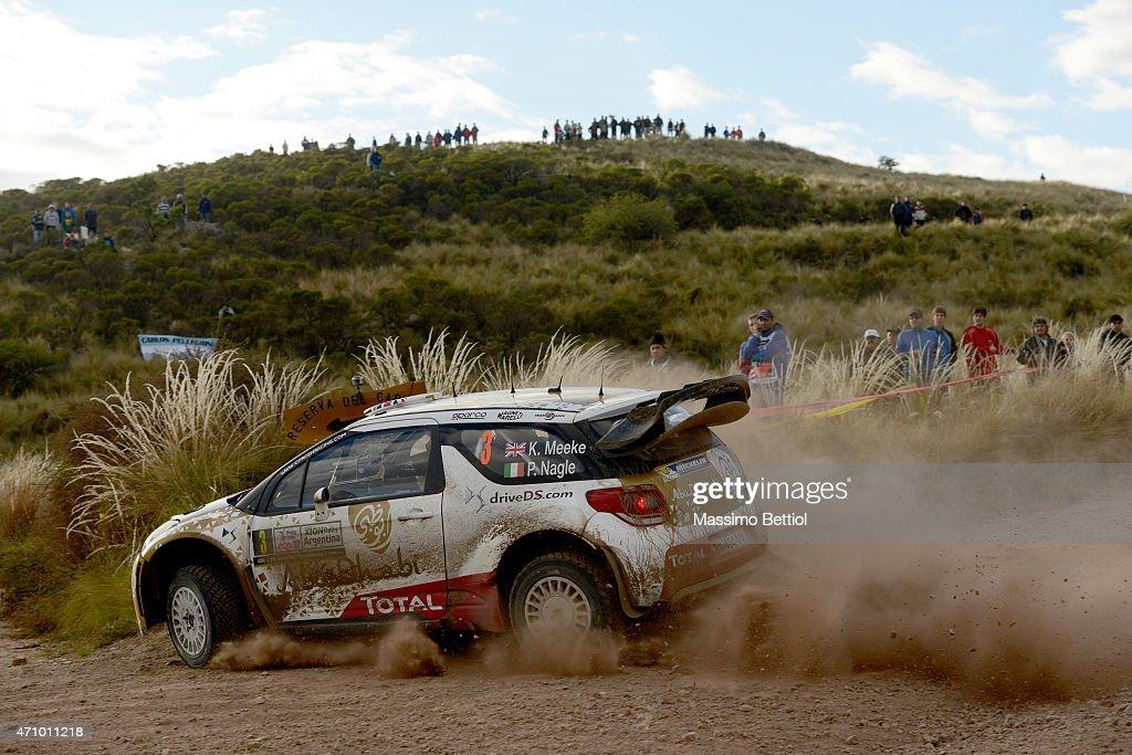 FIA World Rally Championship Argentina - Day Two : News Photo