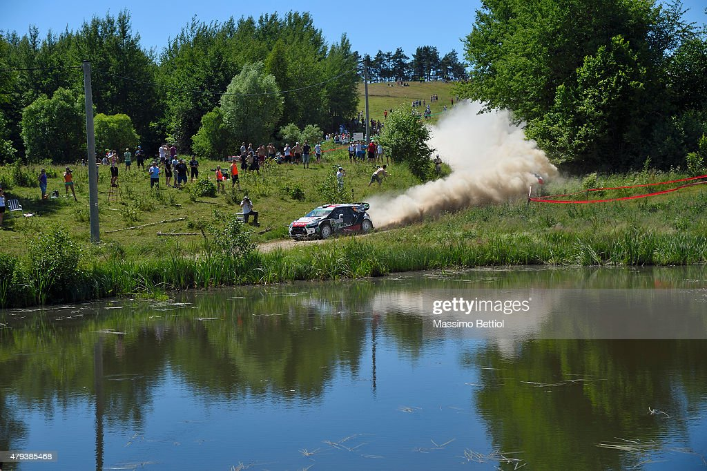FIA World Rally Championship Poland - Day One : News Photo