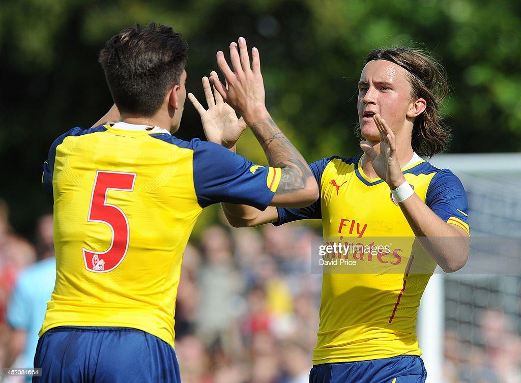 Borehamwood v Arsenal: Pre-Season Friendly : News Photo
