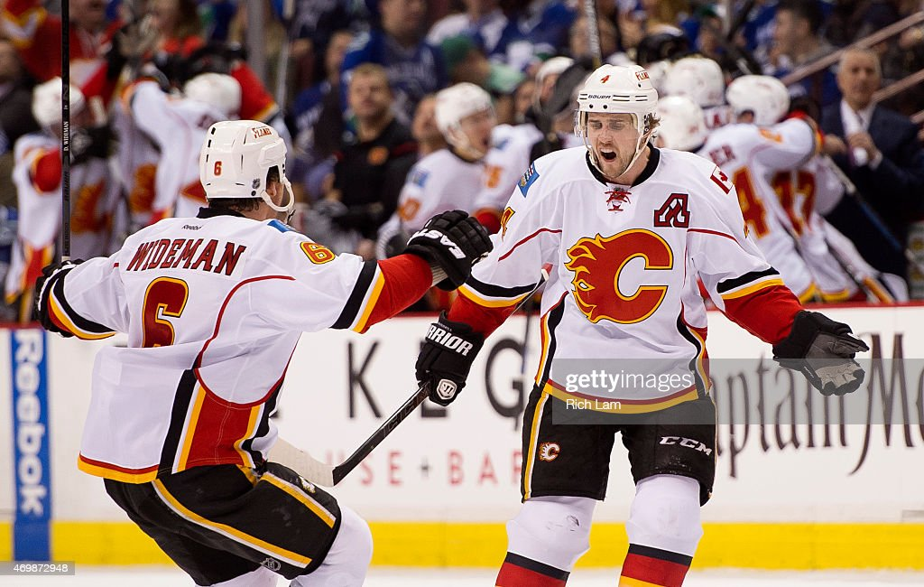 Calgary Flames v Vancouver Canucks - Game One