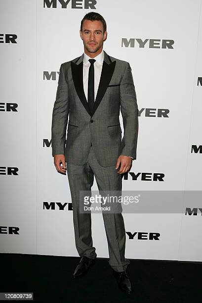 Kris Smith arrives at the Myer Spring/Summer 2011 fashion launch on August 11, 2011 in Sydney, Australia.