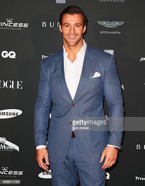 Kris Smith attends the Princess Yachts launch evening at Rose Bay Marina on August 1 2014 in Sydney Australia