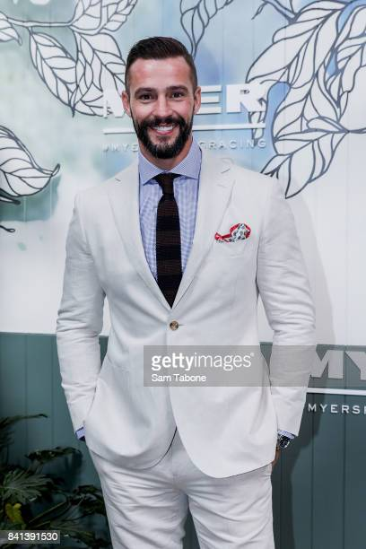Kris Smith during the Myer Spring Racing 2017 Collections Launch on September 1 2017 in Melbourne Australia