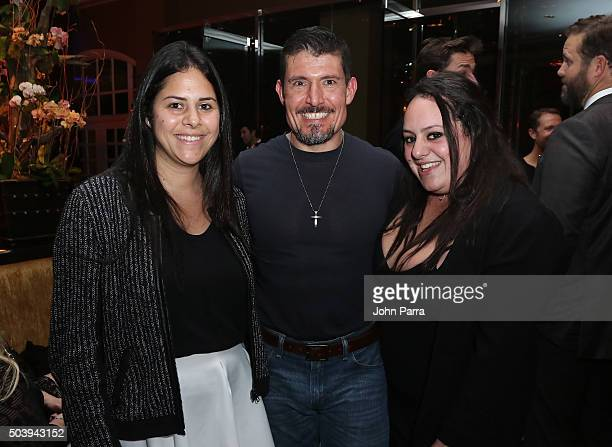 Kris 'Tanto' Paronto and guests attend the after party for the Miami Fan Screening of the Paramount Pictures film '13 Hours The Secret Soldiers of...