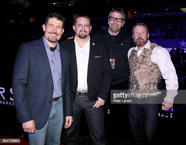 Kris Tanto Paronto John Tig Tiegen President Motion Picture Group Paramount Pictures Marc Evans and Mark Oz Geist attend the Dallas Premiere of the...