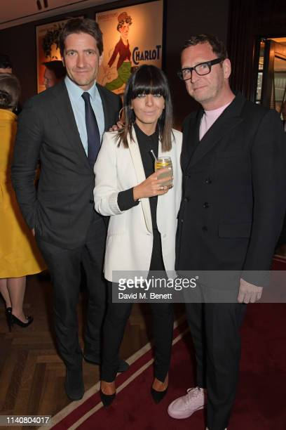 Kris Thykier Claudia Winkleman and Mark Wogan attend a private dinner to celebrate Dylan Jones' 20th anniversary as EditorInChief of British GQ at...