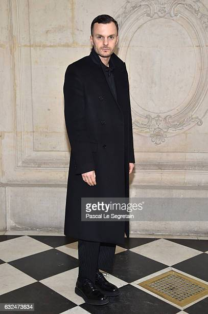 Kris Van Assche attends the Christian Dior Haute Couture Spring Summer 2017 show as part of Paris Fashion Week on January 23 2017 in Paris France
