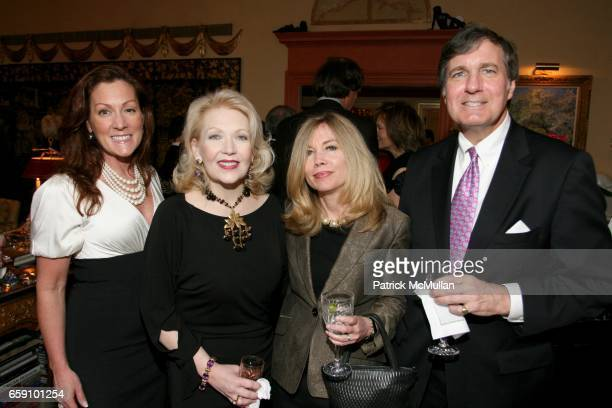 Kris Wilson Connie Jones Alison Parks and Anthony Parks attend THE RICHEST MAN IN TOWN by W RANDALL JONES PrePublication Launch Hosted by GEORGETTE...