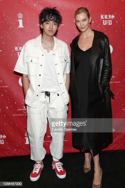 Kris Wu and Karlie Kloss Attends Interscope Records And Beats Present 'The Antares Experience' An Album Release Party on November 6 2018 in New York...
