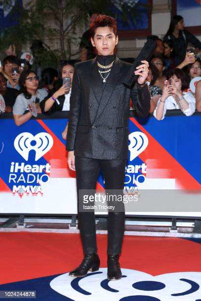 Kris Wu arrives at the 2018 iHeartRADIO MuchMusic Video Awards at MuchMusic HQ on August 26 2018 in Toronto Canada