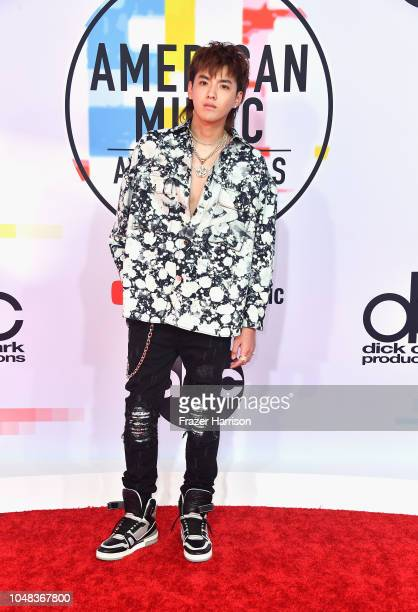 Kris Wu attends the 2018 American Music Awards at Microsoft Theater on October 9 2018 in Los Angeles California